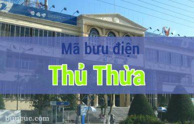 Mã bưu điện Thủ Thừa, Long An