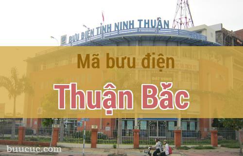 Mã bưu điện Thuận Bắc, Ninh Thuận