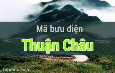 Mã bưu điện Thuận Châu, Sơn La