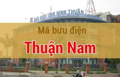 Mã bưu điện Thuận Nam, Ninh Thuận