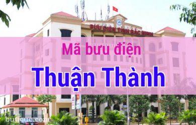 Mã bưu điện Thuận Thành, Bắc Ninh