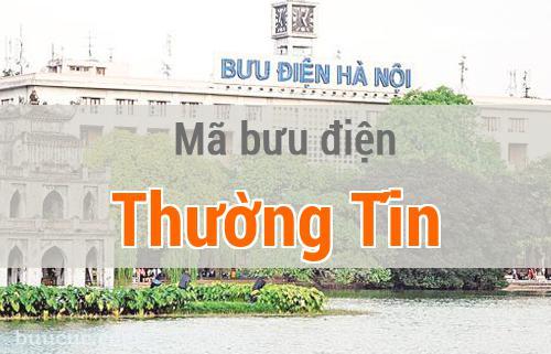 Mã bưu điện Thường Tín, Hà Nội