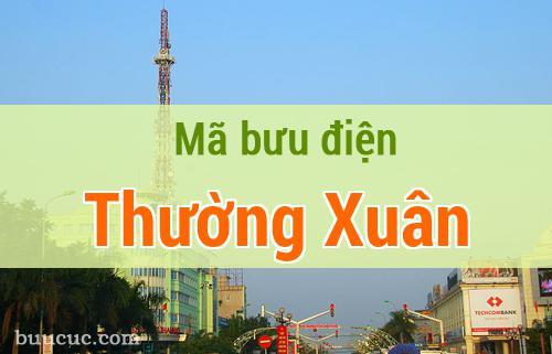 Mã bưu điện Thường Xuân, Thanh Hoá