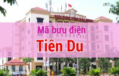 Mã bưu điện Tiên Du, Bắc Ninh