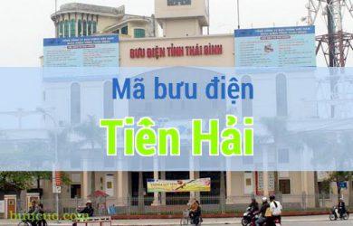 Mã bưu điện Tiền Hải, Thái Bình