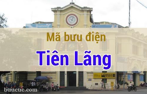Mã bưu điện Tiên Lãng, Hải Phòng