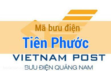 Mã bưu điện Tiên Phước, Quảng Nam