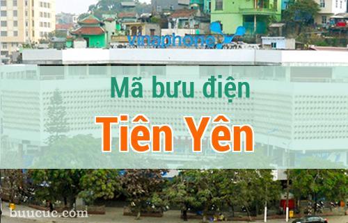 Mã bưu điện Tiên Yên, Quảng Ninh