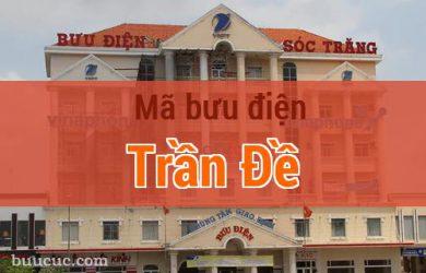 Mã bưu điện Trần Đề, Sóc Trăng