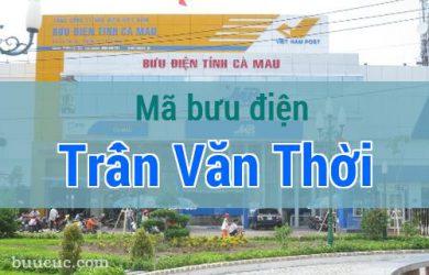 Mã bưu điện Trần Văn Thời, Cà Mau