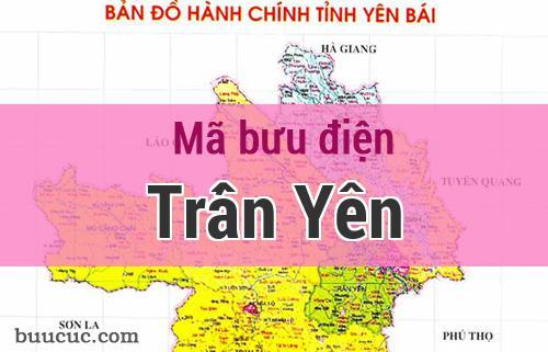 Mã bưu điện Trấn Yên, Yên Bái
