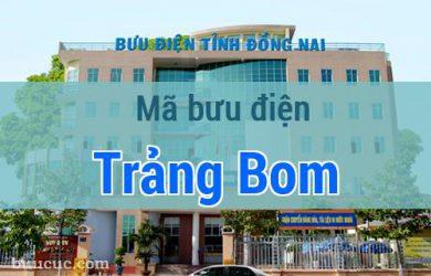 Mã bưu điện Trảng Bom, Đồng Nai