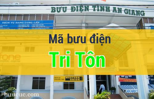Mã bưu điện Tri Tôn, An Giang