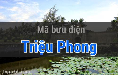Mã bưu điện Triệu Phong, Quảng Trị