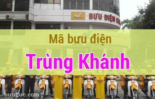 Mã bưu điện Trùng Khánh, Cao Bằng