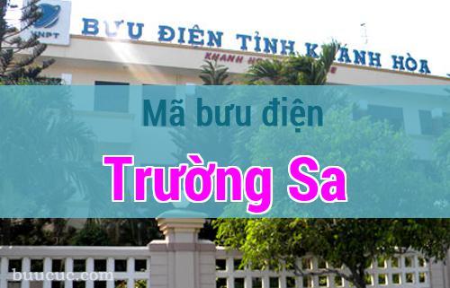 Mã bưu điện Trường Sa, Khánh Hoà