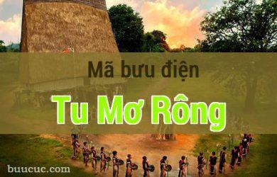 Mã bưu điện Tu Mơ Rông, Kon Tum