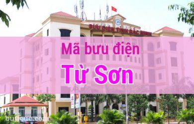 Mã bưu điện Từ Sơn, Bắc Ninh