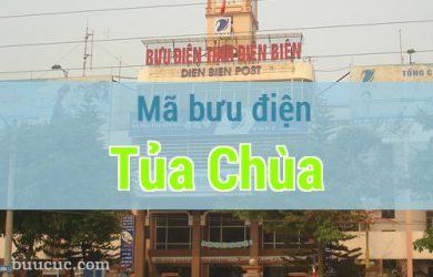 Mã bưu điện Tủa Chùa, Điện Biên
