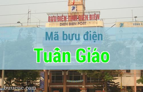 Mã bưu điện Tuần Giáo, Điện Biên