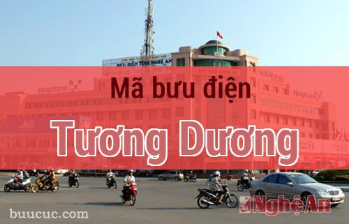 Mã bưu điện Tương Dương, Nghệ An