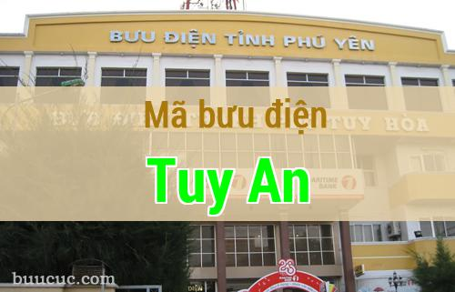 Mã bưu điện Tuy An, Phú Yên