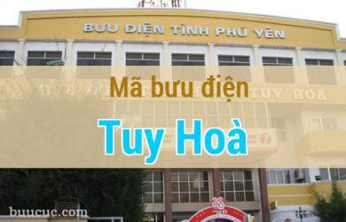 Mã bưu điện Tuy Hoà, Phú Yên