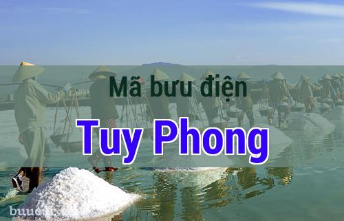 Mã bưu điện Tuy Phong, Bình Thuận