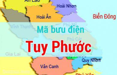 Mã bưu điện Tuy Phước, Bình Định