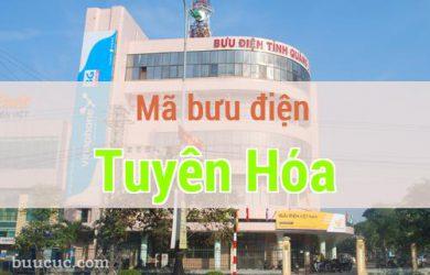 Mã bưu điện Tuyên Hóa, Quảng Bình