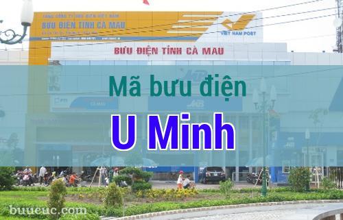 Mã bưu điện U Minh, Cà Mau