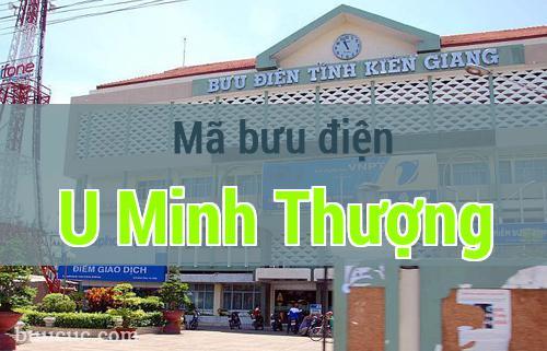 Mã bưu điện U Minh Thượng, Kiên Giang
