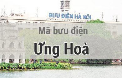 Mã bưu điện Ứng Hoà, Hà Nội