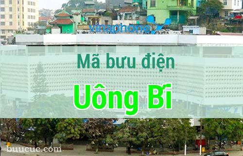 Mã bưu điện Uông Bí, Quảng Ninh