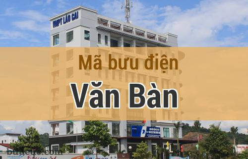 Mã bưu điện Văn Bàn, Lào Cai