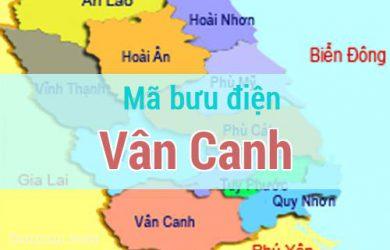 Mã bưu điện Vân Canh, Bình Định