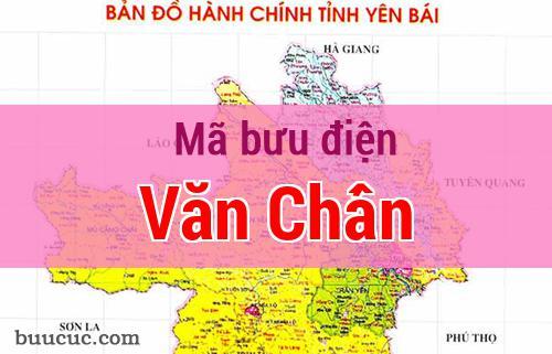 Mã bưu điện Văn Chấn, Yên Bái