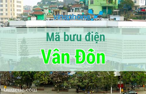 Mã bưu điện Vân Đồn, Quảng Ninh
