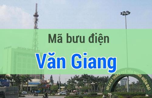 Mã bưu điện Văn Giang, Hưng Yên