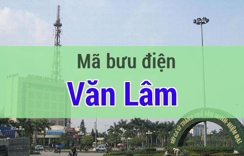 Mã bưu điện Văn Lâm, Hưng Yên