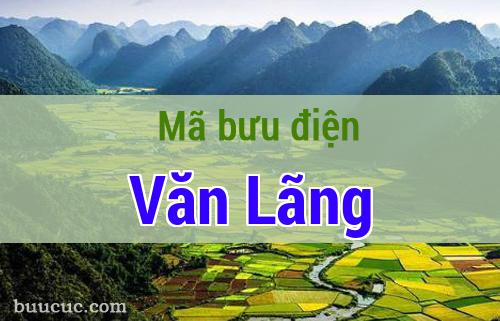 Mã bưu điện Văn Lãng, Lạng Sơn