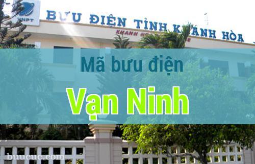 Mã bưu điện Vạn Ninh, Khánh Hoà