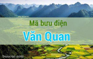 Mã bưu điện Văn Quan, Lạng Sơn
