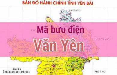 Mã bưu điện Văn Yên, Yên Bái