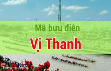 Mã bưu điện Vị Thanh, Hậu Giang