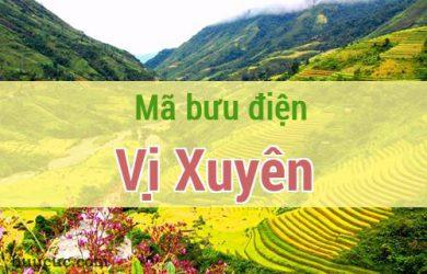 Mã bưu điện Vị Xuyên, Hà Giang