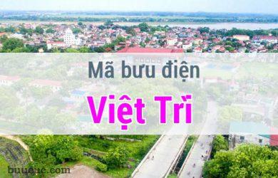 Mã bưu điện Việt Trì, Phú Thọ