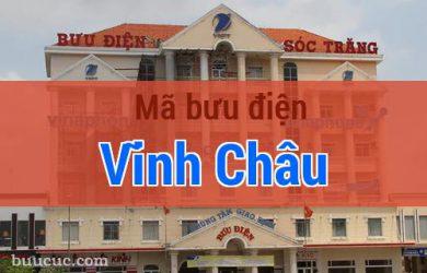 Mã bưu điện Vĩnh Châu, Sóc Trăng