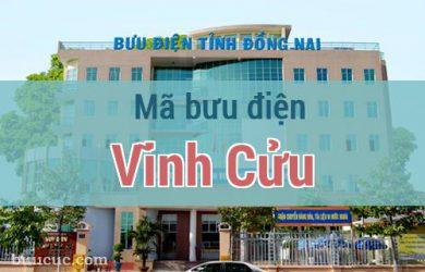Mã bưu điện Vĩnh Cửu, Đồng Nai