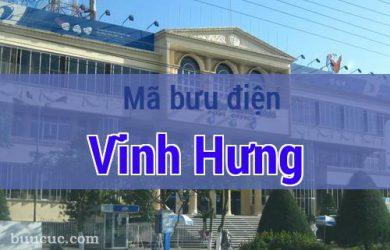 Mã bưu điện Vĩnh Hưng, Long An